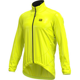 Alé Cycling Guscio Light Pack Jacket Men flou yellow